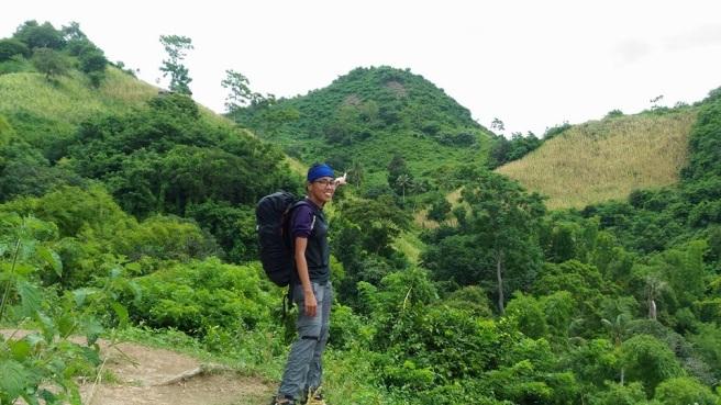 Naupa from the Cogon trail. Photo courtesy of Kim Maribao