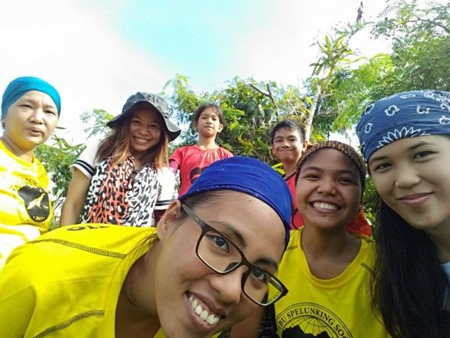 Obligatory selfie from the peak. Photo courtesy of Kim Maribao